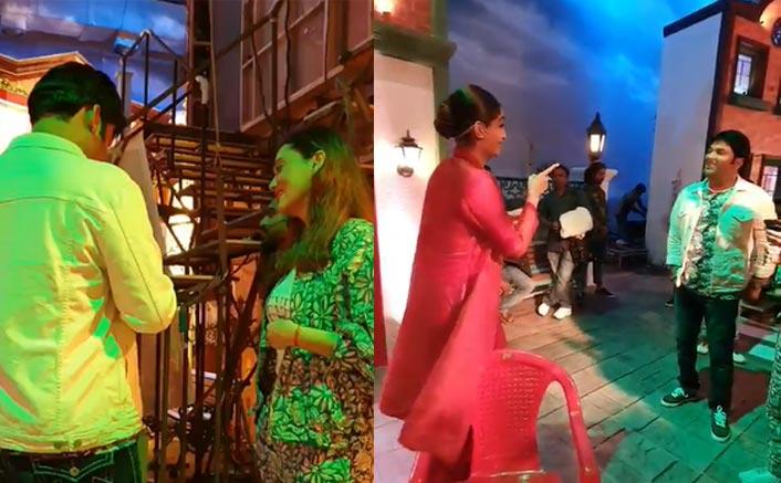 The Kapil Sharma Show: The Zoya Factor Stars Sonam Kapoor & Dulquer Salman Have Fun With Kapil Sharma In This BTS Video
