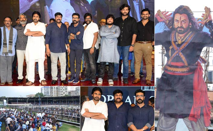 Sye Raa Narasimha Reddy Pre-Release Event Receives Grand Response From Fans, Check Out Pics