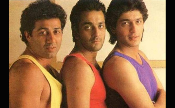 ThrowbackThurdsday: This Picture Of Sunny Deol, Sanjay Dutt & Chunky Panday Will Surely Make You Miss The 90's