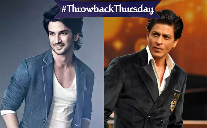 #ThrowbackThursday: When Sushant Singh Rajput Revealed His Favorite Movie Is THIS SRK Film, But Favourite Actor Isn't Shah Rukh Khan!