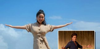 To All The Boys I've Loved Before Fame Lana Condor Does The Signature Shah Rukh Khan Pose In India!