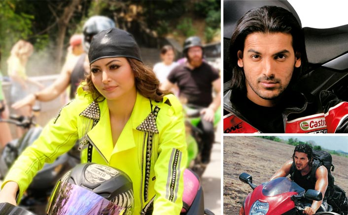 Urvashi Rautela's Get-up In T-Series' Upcoming Music Video Bijli Ki Taar Is Inspired By John Abraham's Dhoom Look