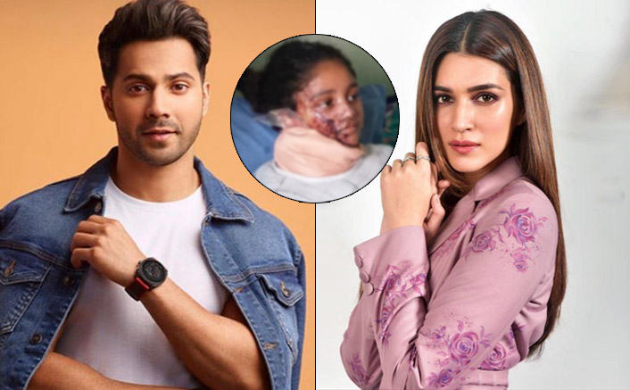 Varun Dhawan, Kriti Sanon Interact With An Acid Attack Victim & Prove Why Humanity Is Above Everything!