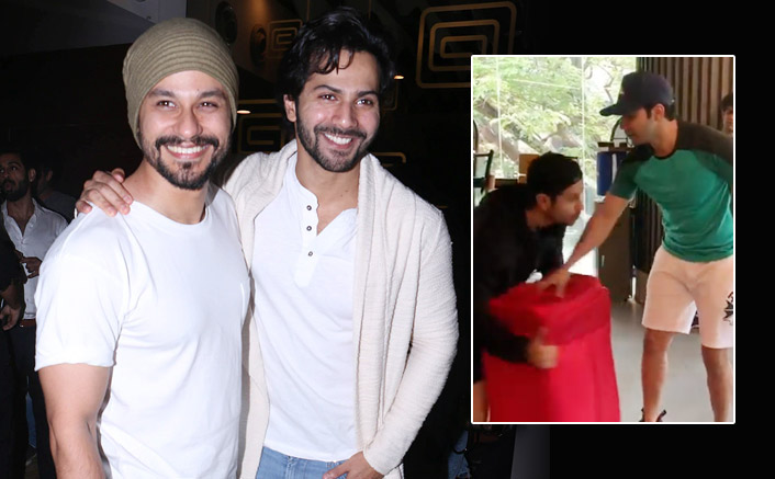 Varun Dhawan & Kunal Kemmu Fight It Out In This Video & The Reason Will Leave You In Splits