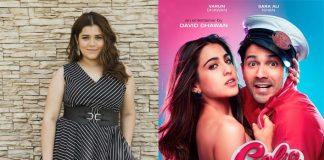 'Veere Di Wedding' actress Shikha Talsania in 'Coolie No 1'