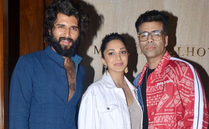 Vijay Deverakonda & Kiara Advani Spotted Together Chilling With Karan Johar & Manish Malhotra; Is Movie On The Cards?