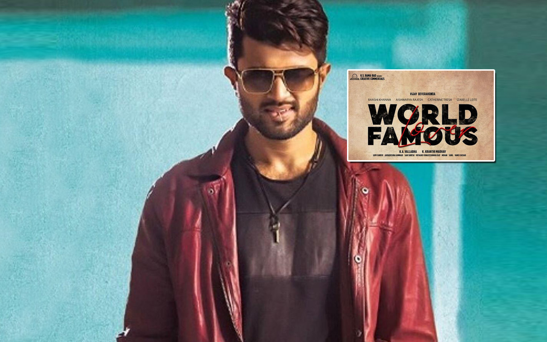 Vijay Deverakonda's Next Titled World Famous Lover
