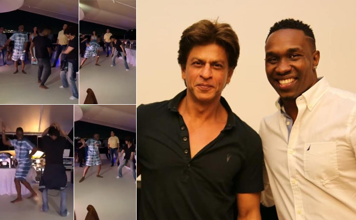 VIRAL VIDEO: Shah Rukh Khan Dancing To 'Lungi Dance' With DJ Bravo Is MOOD