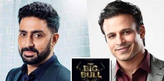 Vivek wishes luck to Abhishek for 'The Big Bull'