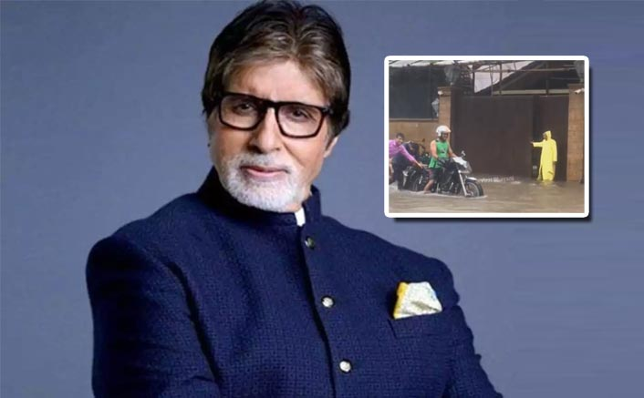 VIDEO: Mumbai Rains Flood Amitabh Bachchan's Bungalow Pratiksha