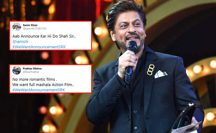 #WeWantAnnouncementSRK: Shah Rukh Khan Fans Go Haywire Post Actor's Clarification Around YRF's Next