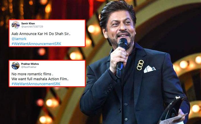 #WeWantAnnouncementSRK: Shah Rukh Khan Fans Go Haywire Post Actor's Clarification Around YRF's Next