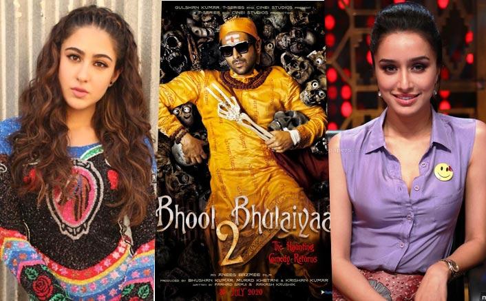 Bhool Bhulaiyaa 2: Shraddha Kapoor Or Sara Ali Khan To Play Kartik Aaryan's Leading Lady?