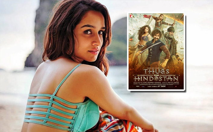 WHAT! Shraddha Kapoor Was Approached For Aamir Khan's Thugs Of Hindostan?