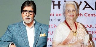 When Big B carried Waheeda Rehman's footwear
