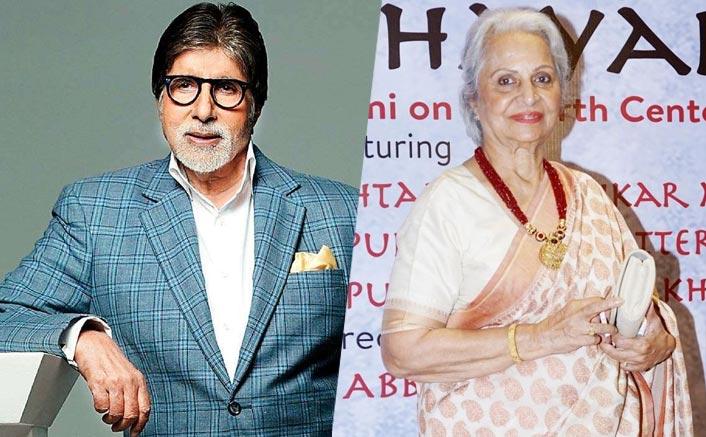 When Amitabh Bachchan Carried Waheeda Rehman's Footwear & Ran Towards Her