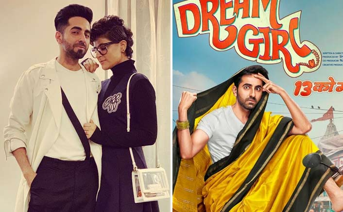When Reel Life 'Dream Girl' Ayushmann Khurrana Posed With Real Life 'Dream Girl' Tahira Kashyap, Netizens Hail - 'Rab Ne Bana Di Jodi'
