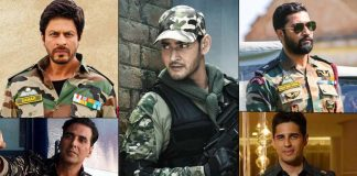 With Mahesh Babu acing the army look in his next film, here is a list of actors who have nailed the look in the past