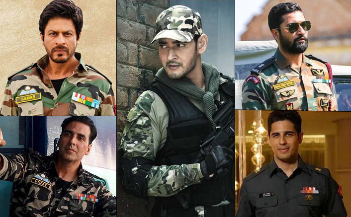 From Shah Rukh Khan To Mahesh Babu, Here's A List Of Actors Who Have Nailed The Army Look Like A Boss!