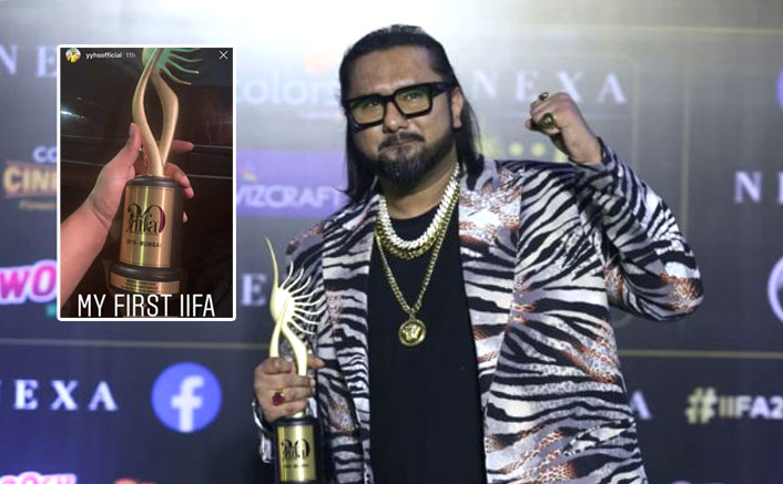 Yo Yo Honey Singh strikes big, wins the best music direction at the recent award show