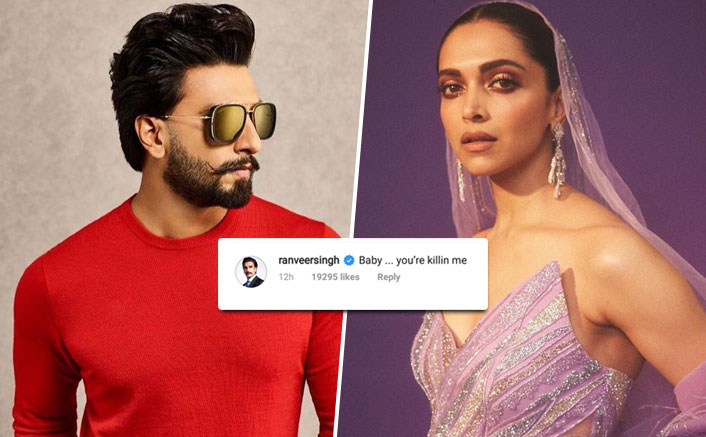 You're killing me: Ranveer on Deepika's photo