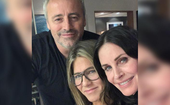 A surprise 'Friends' reunion