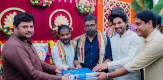 AA20 Muhurat Pics: Sukumar's Next Starring Allu Arjun Launched In Hyderabad