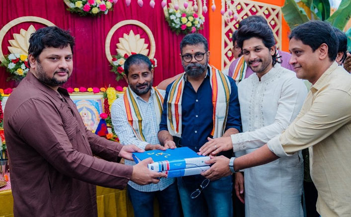 AA20 Muhurat Pics: Sukumar's Next Starring Allu Arjun Launched In Hyderabad