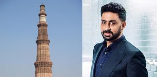 Abhishek shoots for his next at Qutub Minar