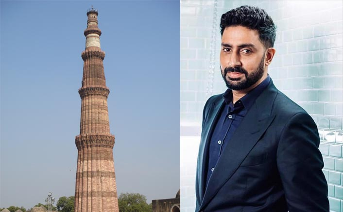 Abhishek Bachchan Reminsces Good Old Childhood Days As He Shoots His Next At Qutub Minar