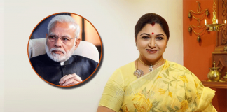 Actress Khushbu Sundar Expresses Disappointment On PM Narendra Modi Excluding South Industry