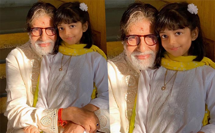 Aishwarya shares adorable pic of 'dadaji' Big B with Aaradhya