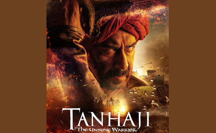 Ajay Devgn's Tanhaji Poster Out: Swords, Battle & Those Fiery Eyes!