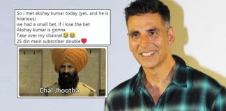 Akshay Kumar Replies Comedian Ashish Chanchlani With A Hilarious Meme On Twitter, It Will Make You LOL