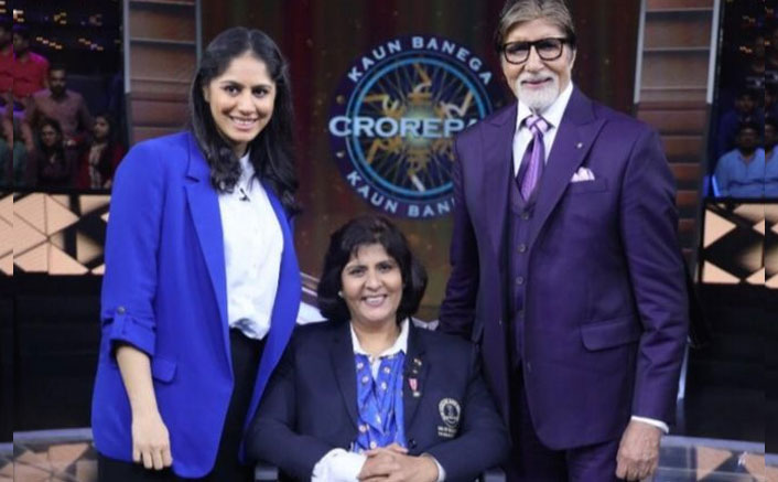 Amitabh Bachchan Invites Two Special Guests On The Sets Of KBC; Celebrates International Girl Child Day With Them