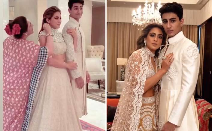 Amrita Singh Putting Kaala Tikka To Sara Ali Khan Before A Photo Shoot Is Every Indian Mom!