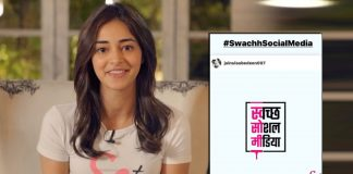 Ananya Panday urges all her fans to build a 'Swachh Social Media'; Resolves to not abuse on social media with an intent to hurt anyone