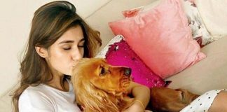 #Animallove: Disha Patani says 'best therapy has fur and four legs'