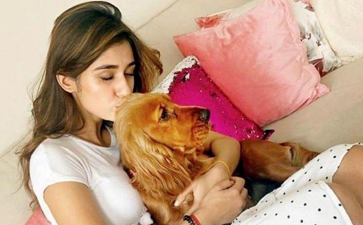 Disha Patani's Pet Dog Is Her Therapist And Her Latest Instagram Post Is Proof