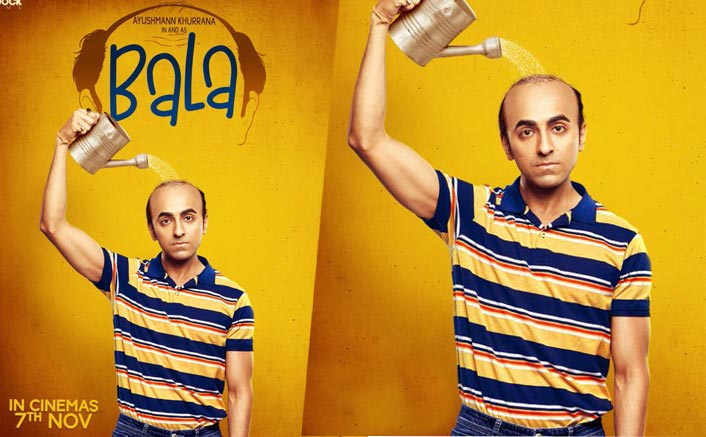 Ayushmann Khurrana AKA Bala Turns Maali For His Own Baal In This Latest Poster Of His Upcoming Comedy