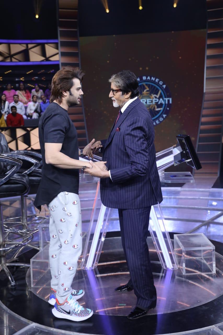 When 'Sultan Of Stage' Maniesh Paul Met 'Shahenshah Of Bollywood' Amitabh Bachchan To Wish Happy Diwali Before Leaving For Hometown!