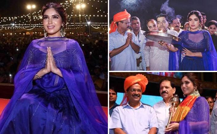 Bhumi attends Dusshera in Delhi as Ramlila fever grips celebs