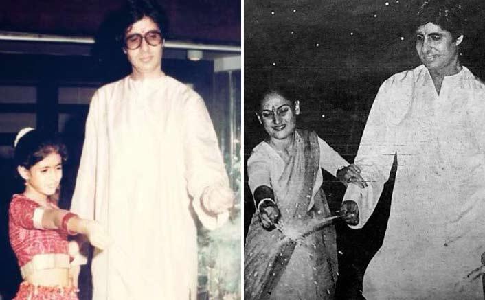 Amitabh Bachchan's 'Ek Woh Bhi Diwali Thi, Ek Yeh Bhi Diwali Hai' Via Throwback Pictures