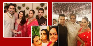 Big B's Diwali Bash: Aishwarya Rai Bachchan, Abhishek Bachchan, Rani Mukerji & Others Have A Gala Time