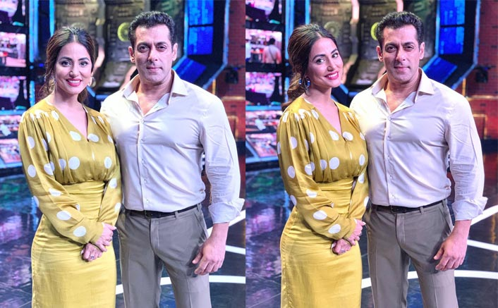 Bigg Boss 13: Hina Khan Joins Salman Khan In Weekend Ka Waar Episode, See Photos