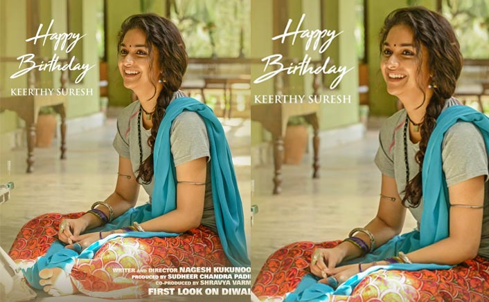 Birthday Girl: Keerthy Suresh's De-glam Look From Nagesh Kukunoor Directorial Venture Revealed