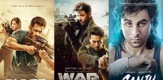 Box Office: 3 Days Of War Vs Sanju Vs Baahubali 2 Vs Tiger Zinda Hai