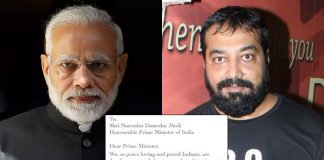 BREAKING: FIR Filed Against Anurag Kashyap & 48 Celebs For Open Letter To PM Narendra Modi Over Mob Lynching