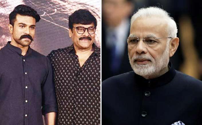 Chiranjeevi & Ram Charan Gets A Special Invite From P.M Narendra Modi