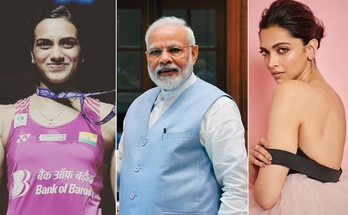 Deepika Padukone & PV Sindhu Collaborate For PM Narendra Modi's Bharat Ki Laxmi Initiative
